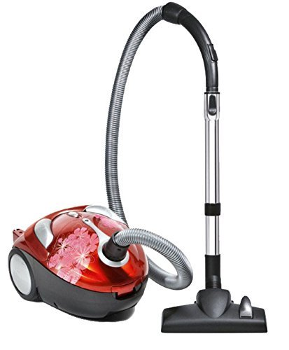 Dirt Devil Tattoo Crimson Bouquet Bagged Canister Vacuum SD30040BB