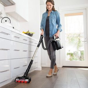 Use the Shark ION P50 Lightweight Cordless Vacuum IC162 in Upright or Portable mode for vacuuming hardwood floors