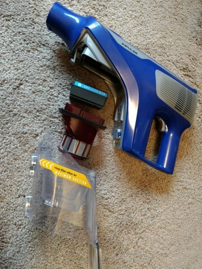 Hoover Impulse Cordless Stick Vacuum Cleaner BH53020 is quality built