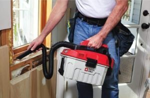 PORTER CABLE PCC795B 20V MAX Wet Dry Cordless Shop Vacuum is handy for shop and home renovation