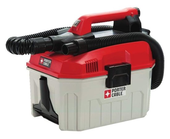 PORTER CABLE PCC795B 20V MAX Wet Dry Cordless Shop Vacuum