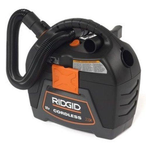 Ridgid 18 volt 3 Gallon Cordless Wet dry Vacuum