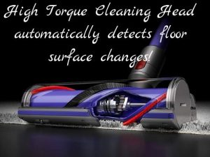Dyson V11 Animal feature high torque cleaning head