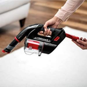 BISSELL Multi Auto Lightweight Lithium Ion Cordless Car Hand Vacuum 19851 features on board storage