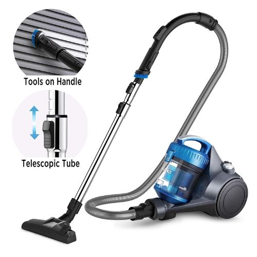 Eureka NEN110A Whirlwind Bagless Canister Vacuum priced under $100