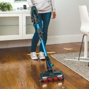Shark ION F80 MultiFLEX IF281 Cordless Stick Vacuum works best on hardwood floors