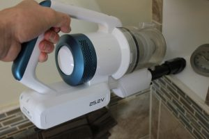 Eureka NEC180 RapidClean Pro Cordless Vacuum converts to a hand vacuum